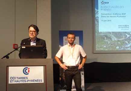 EDF : Succès de la 1ère convention d'affaires dans les Hautes-Pyrénées