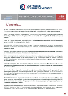 CONJONCTURE n°19
